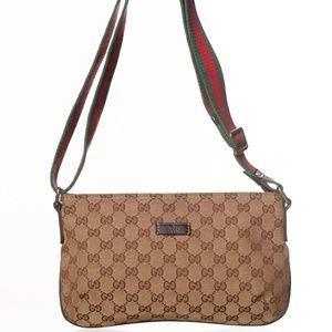 Gucci GG Canvas Sherry Line Crossbody bag